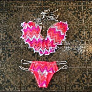 Luli Fama Braided Hot Buns Bikini